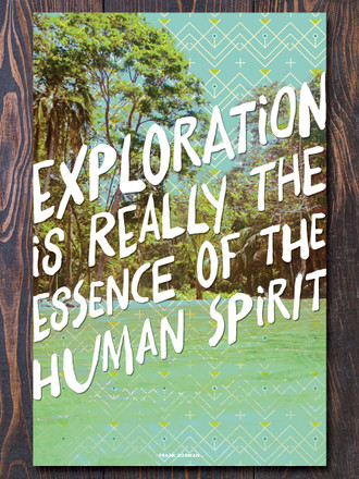Exploration Art Print