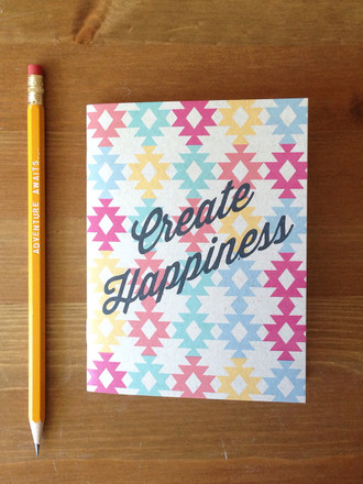 Aztec Create Happiness Notebook