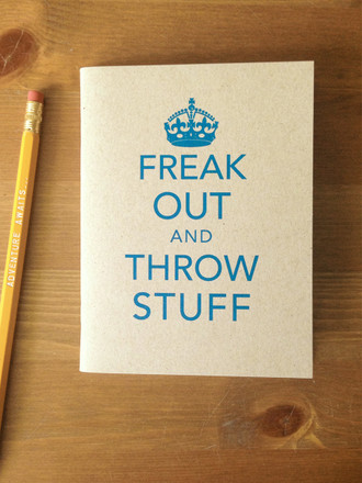 Freak Out Pocket Notebook