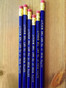 HA HA HA! Made in America, Non-Toxic, #2 Pencils.
