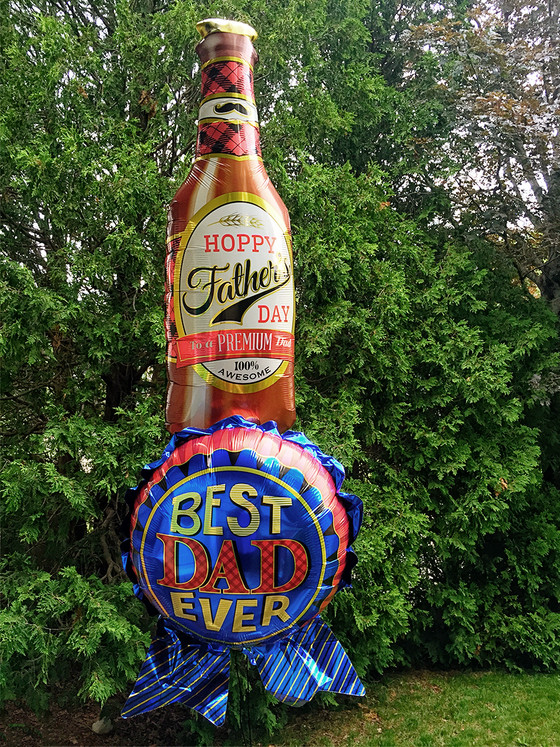Love these balloons for dad.