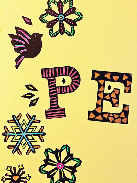 Loving this fun holiday decor! Reuse them and color them over and over! The fun never ends.
