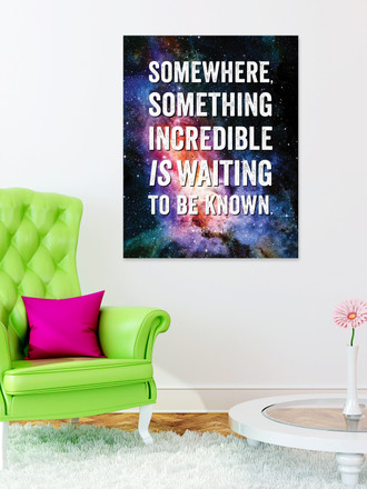 Something Incredible Art Print