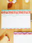 Festive and lovely. These recipe cards are both cute and fuctional!