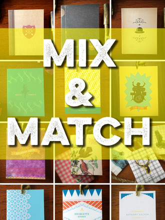 24 Mix & Match Personalized Notes Choose 4 Styles