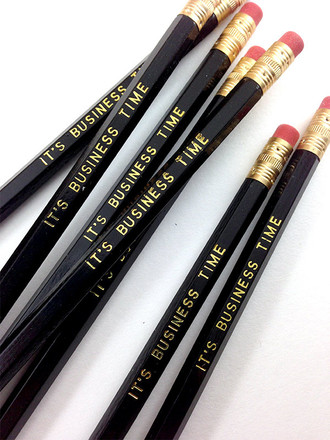 It's Business Time Pencil 6 Pack