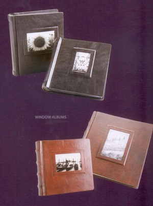 "Photo Albums - Italian Leather - 12"" x 12"""