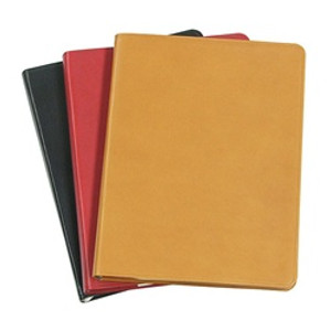 "5 1/2 x 8"" Journal - available in Smooth Traditional Black, Red, and British Tan"