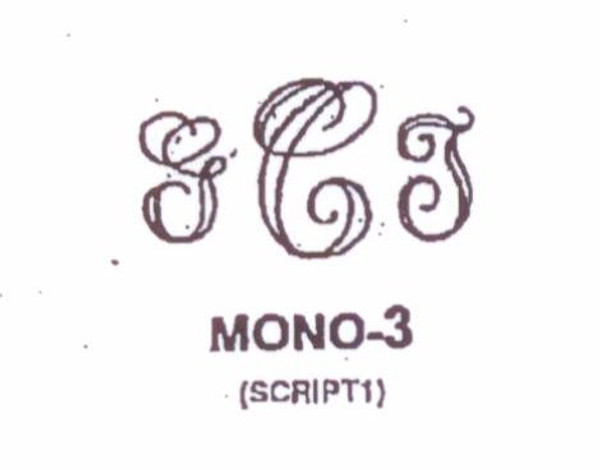Wax Seal - Mono-3 - Monogram