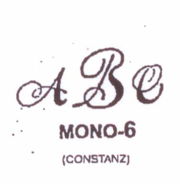 Wax Seal - Mono-6 - Monogram