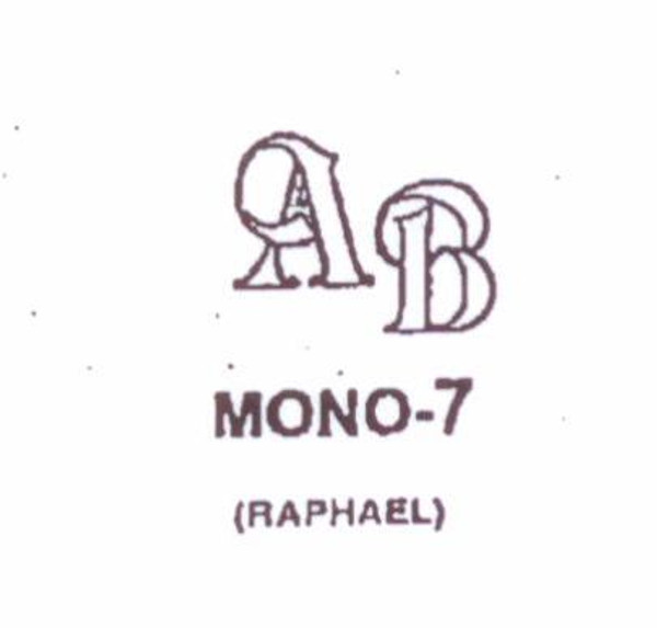 Wax Seal - Mono-7 - Monogram