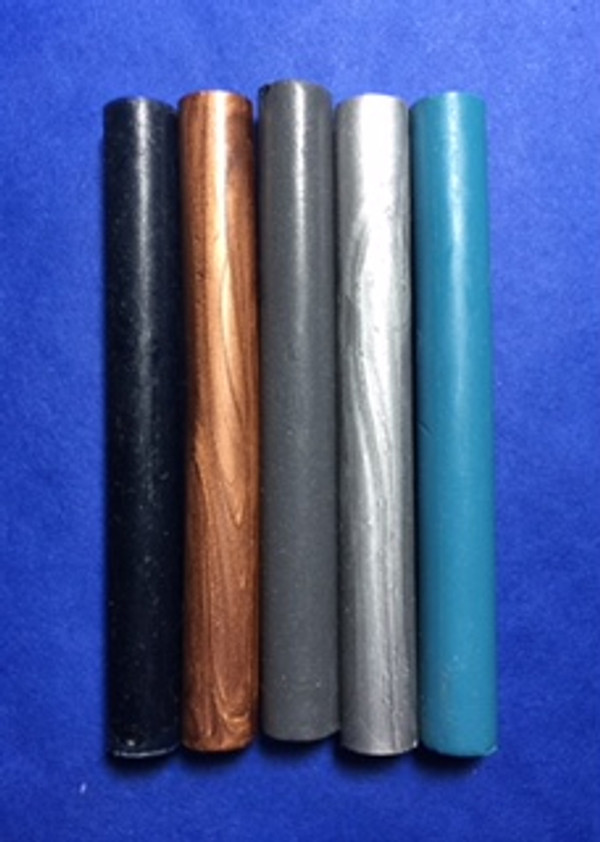Left to right: Navy, Copper, Flannel Grey, Silver, Turquoise -1.00!!!