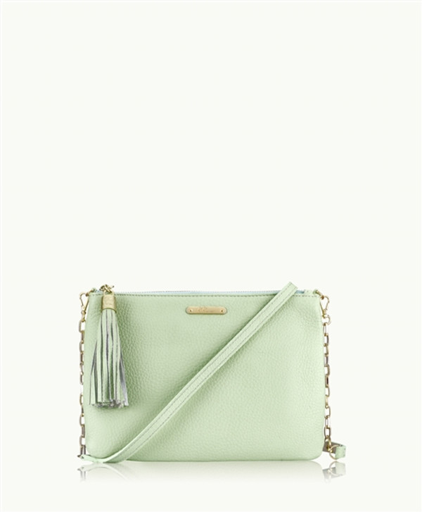 Cross Body Havanna Phone Bag Sea Glass Mermaid Green