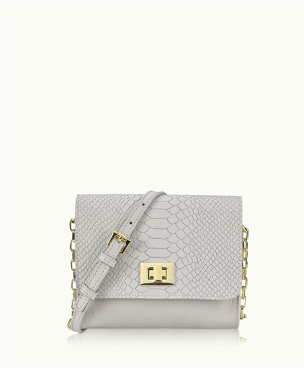 Beach Party Luxe Cocktail Party Cross Body PhoneBag - Sand Grey