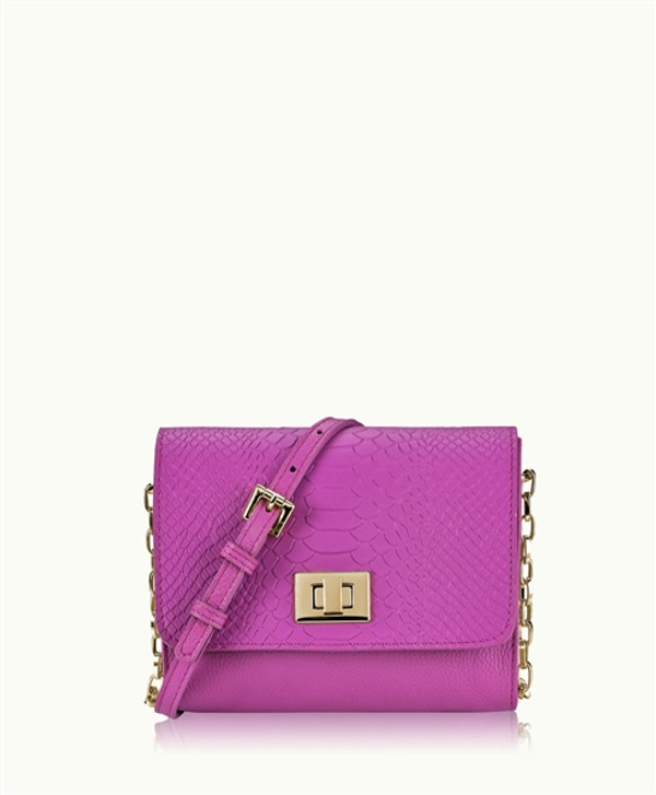 Beach Party Luxe Cocktail Party Cross Body PhoneBag - Sunset Pink