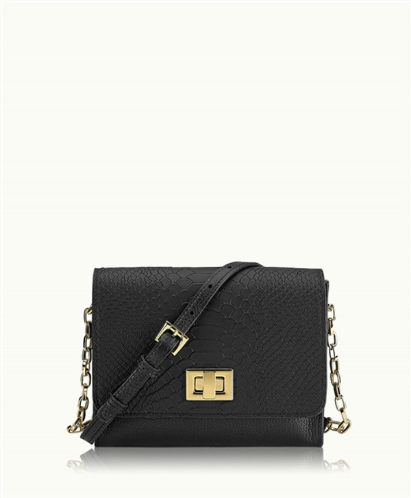Beach Party Luxe Cocktail Party Cross Body PhoneBag - Night Sky Black