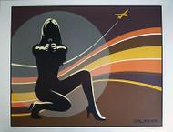 Almera Flight Signed Art Print Silkscreen Art Print Image