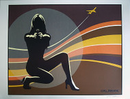 Almera Flight Signed Art Print Silkscreen Art Print Image