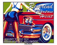 Almera Reverend Horton Heat 1997 Silkscreen Concert Poster