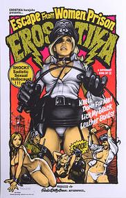Rockin JellyBean Erositka Escape Women Prison Silkscreen Poster Image