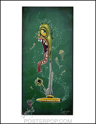 Candy Submariner Hand Signed Artist Print  8-1/2 x 11