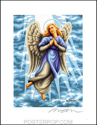 Almera Angel Beth Hand Signed Artist Print  8-1/2 x 11 Image