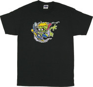 Pizz Skate Kid T Shirt