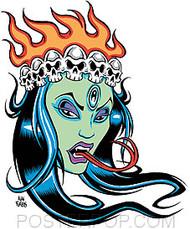 Forbes Green Kali Sticker Image