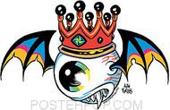 Forbes Flying Eyeball Sticker Image