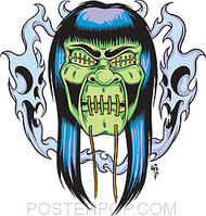 Forbes Ghastly Sticker Image