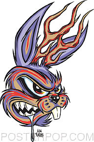 Forbes Jackalope Sticker Image