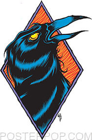 Forbes Raven Sticker Image