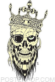 Forbes Pirate King Sticker Image