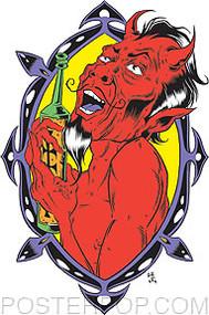 Forbes Drinkin Devil Sticker