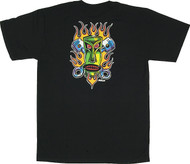 Von Franco Piston Tiki T Shirt