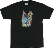 Von Franco Smoking Tiki T Shirt