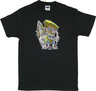 Von Franco Hodad Tiki T Shirt