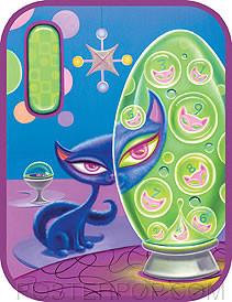 Aaron Marshall Lava Kitty Sticker Image