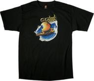 Von Franco Surfing Eyeball T Shirt