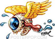 BigToe Eye Spy Sticker Left Facing Image