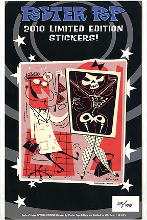 Derek Yaniger LTD 2010 Sticker Image