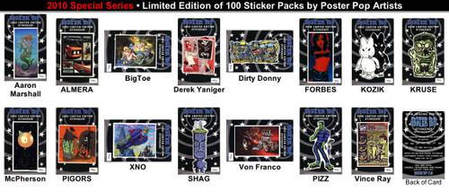 All 15 LTD 2010 Sticker Set Image