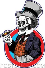 Von Strawn Mr Bones Sticker Image