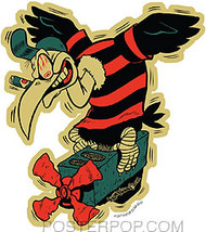 Von Strawn Junk Buzzard Sticker Image New