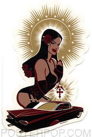 Bawidamann Holy Lowrider Sticker Image