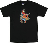 Vince Ray Tattoo Gun T Shirt Image