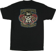 Vince Ray Non Stop Voodoo Rock and Roll T Shirt