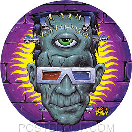 Dirty Donny God of 3D Sticker Image