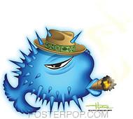 Doug Horne Puffer Fish Sticker Image
