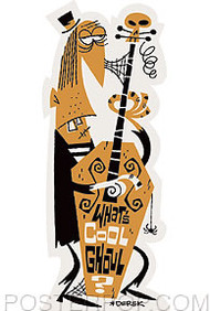 Derek Yaniger Ghoul Sticker Image